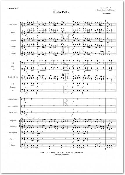 STRAUSS, Johann - Exeter Polka (Blasmusik)