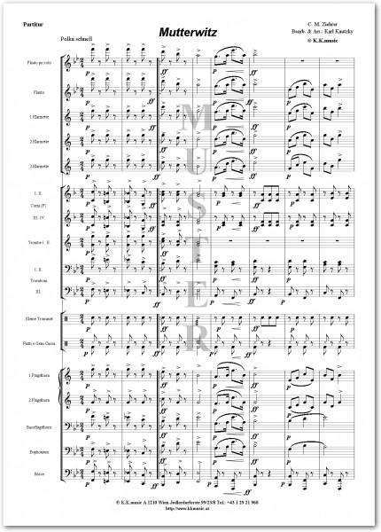 ZIEHRER, Carl Michael - Mutterwitz (Blasmusik)
