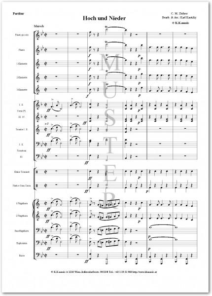 ZIEHRER, Carl Michael - Hoch und Nieder (Blasmusik)